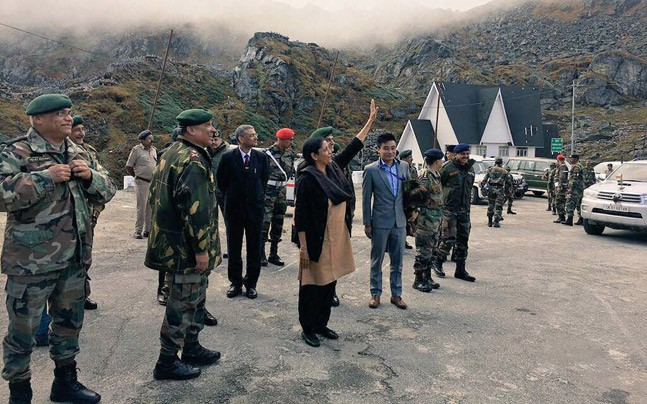 Watch Video: Defence Minister Nirmla Sitharaman teaches Hindi to Chinese soldiers at Border