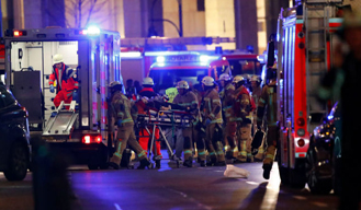 12 killed and many injured as lorry plough into Berlin Christmas market