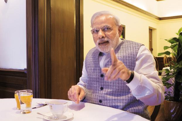 PM Narendra Modi ask UP MP's to focus on development and good governance
