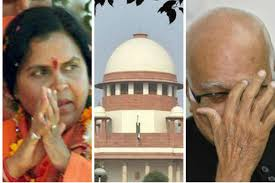 Advani, Bharti, Joshi asked to appear in court on May 30 in Babri Masjid demolition case